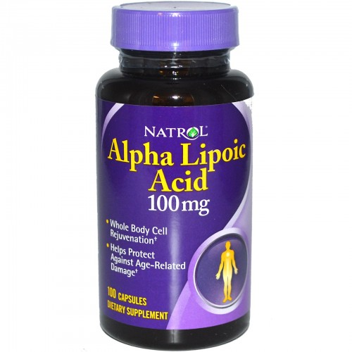 Alpha Lipoic Acid 300 mg 50caps