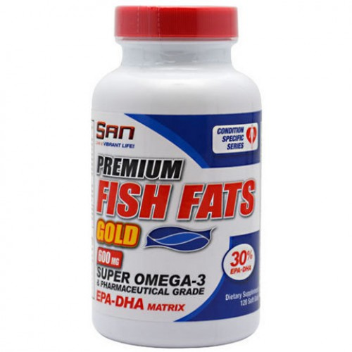 Premium Fish Fats Gold 120c